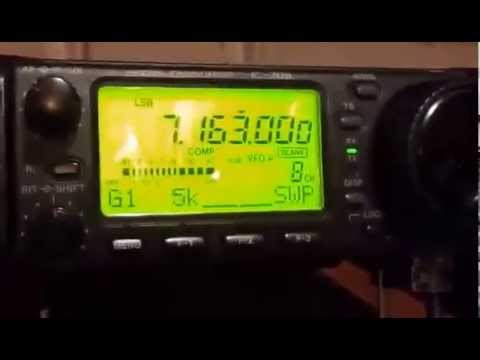 2E0HPI QRP with M0AUI Roger & Danny ON4VT 7.163 6/7/15
