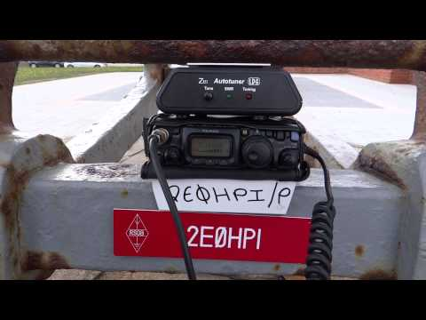 2E0HPI/P QRP working GB2WWM Mills on the Air 10.5.2015