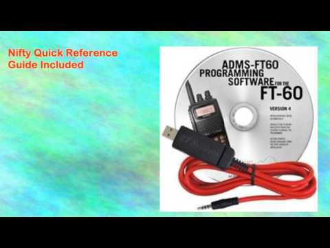 Yaesu Ft60r Radio Programming Softwarecable Nifty Guide and Ham Guides
