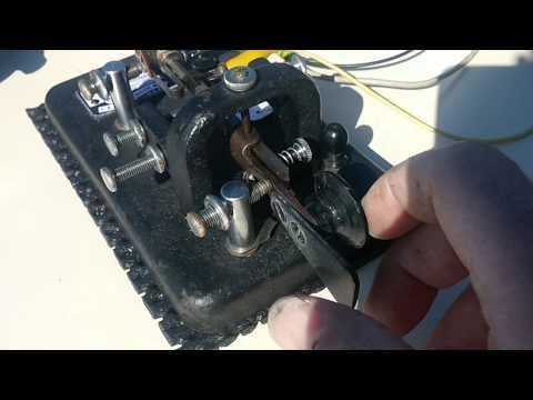 ua6lct qso f8dgy/qrp on 12m with bug key mac elroy
