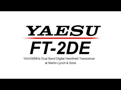Yaesu FT 2DE 144 430MHz Dual Band Digital Handheld Transceiver @ ML&S