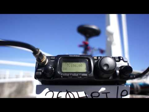 Working MM0KLR Isle Of Muck QRP 27/04/15
