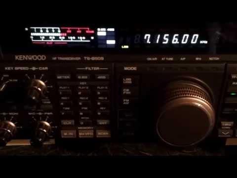 PA3GEG  Icom-7600 on 40 meters