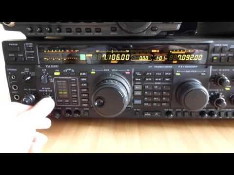 ICOM IC-751A IC-7200 IC-746 VS YAESU FT-107M FT-1000MP