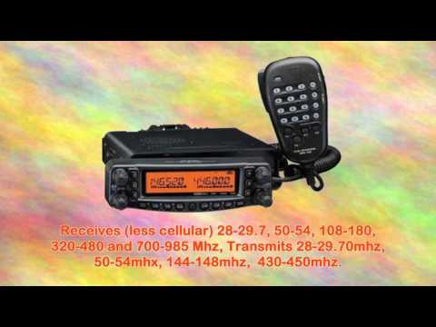Yaesu Ft8900r Quad Band Hi Power Fm Amateur Ham Radio