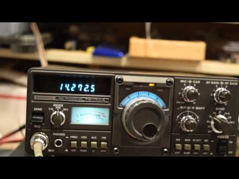 Kenwood TS130S Amateur radio operation
