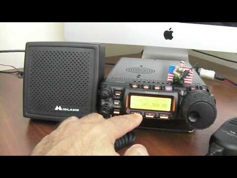 How To Setup A Yaesu FT 857D For 2 Meter Operation 9-7-2015