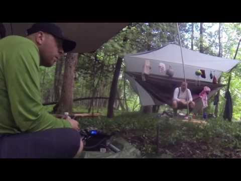 QRP Camping in the Rain  - Florida, Cuba, Guatemala