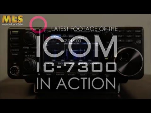 Updated!  Latest Icom IC 7300 Video @ ML&S