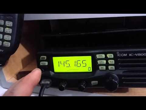 icom ic-v8000 radio amador RONALDO
