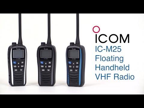 Icom IC-M25 Floating Handheld VHF Radio - West Marine Quick Look