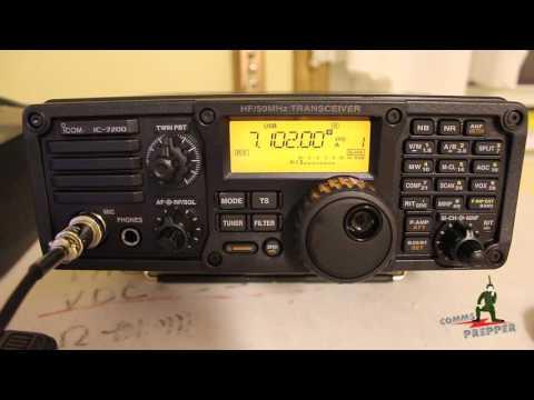 Icom IC-7200 HF Radio