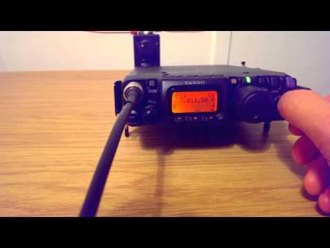 Yaesu FT-991 vs FT-817ND 40m HF CW RX Test by M0SAZ