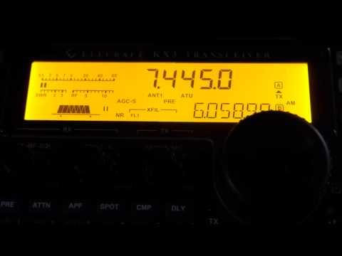 Radio Taiwan Internation 7445khz