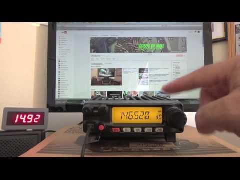 How To Program The Yaesu Ft- 2900R The Ultimate 2 Meter Ham Radio 11-29-2015