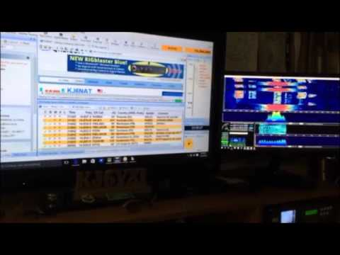 Kenwood TS 590 Synced to HDSDR, SDRPlay, Ham Radio Deluxe