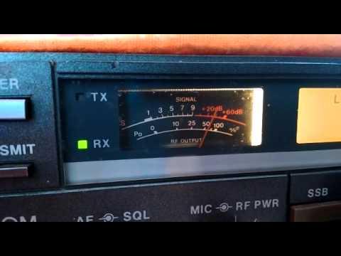 Contato PY1DF x PY1WG Icom IC-725 a venda..