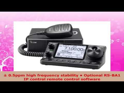 Icom IC7100 HF50144440 MHz Amateur Radio Mobile Transceiver DStar Capable w Touch