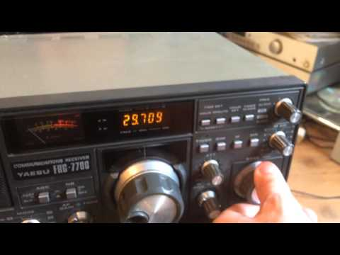 YAESU FRG 7700 HF COMMUNICATIONS RECEIVER HAM RADIO FOR SALE ON EBAY.CO.UK