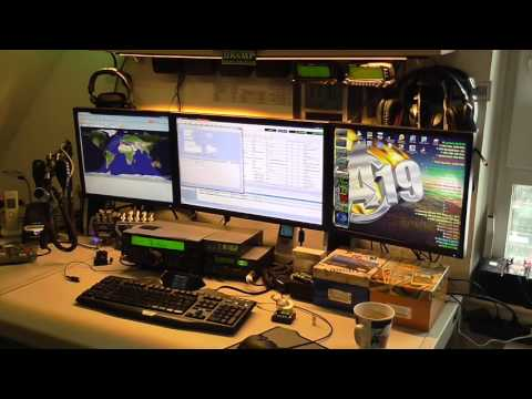 DK6MP Show the Kenwood TS 590 SG with DX patrol an HD-SDR