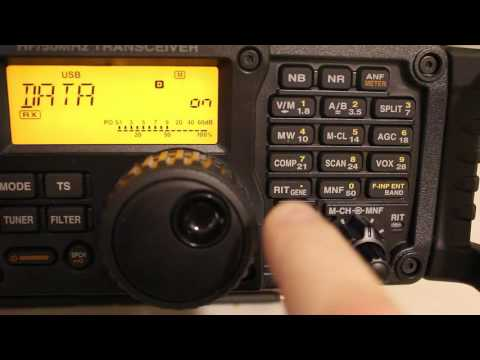 Icom IC-7200 Winmor Setup (RMS Express Sound Card Mode)