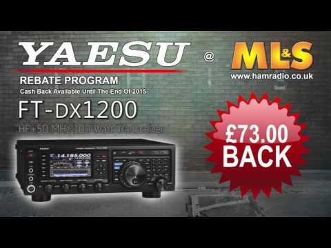 Yaesu Cashback Rebate Program 2015 @ ML&S