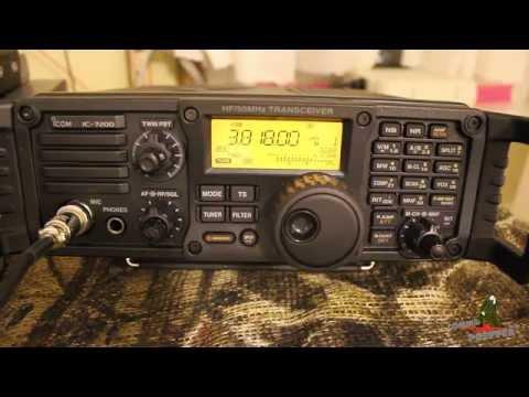 The American Preparedness Radio Network (TAPRN) and the Icom IC-7200 Digital Speech Processing
