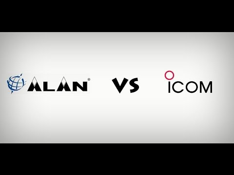Alan 555 vs Icom 740 - receivers test
