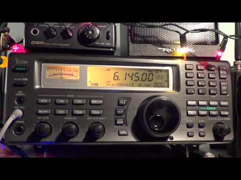 Radio Romania International 0100 UT 6145 Khz Icom IC R8500