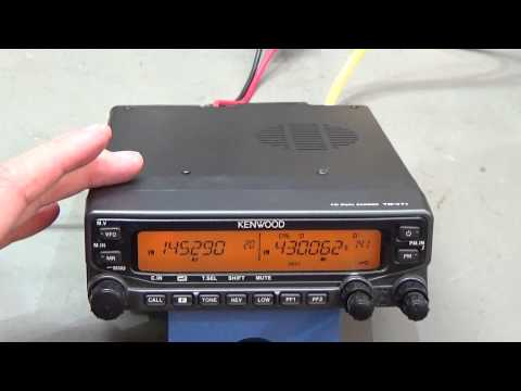 #64 HAM radio repair: Kenwood TM-V71 no transmit
