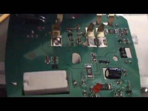 repair / fix yaesu  ft1dr charger p channel fet esd dead