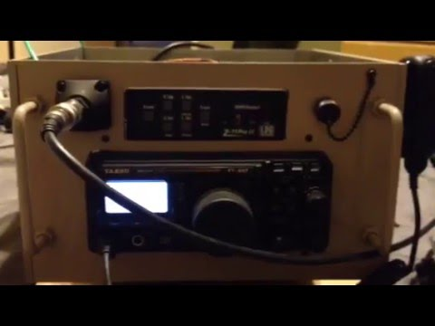 YAESU FT-897 WITH LDG ll TUNER PREPER RADIO