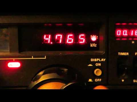 4765 kHz Radio Progreso (Cuba) with Yaesu FRG-7000 & Wellbrook