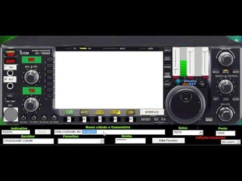 eQSO Rádio da Net ICOM IC 7600