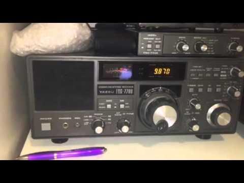 Yaesu FRG-7700 + longwire vs FRG-8800 + Wellbrook ALA1530 loop