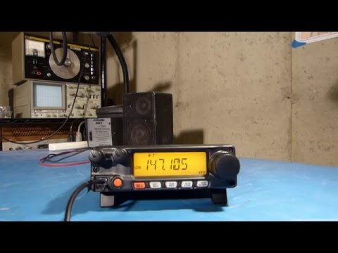 Yaesu FT-2900R Base Station Feet Installation Highlights
