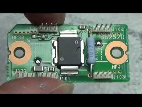 #69 HAM Radio repair: ICOM IC-7000 with burned out driver
