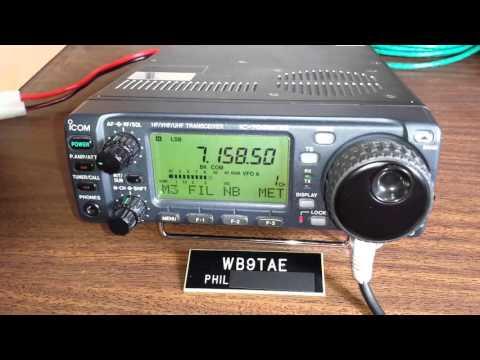 Icom IC-706mkIIg demo