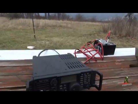 Icom AH-4 Antenna Tuner - Delta Loop Antenna