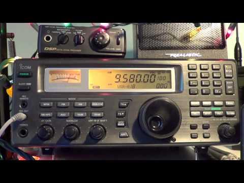 Radio Australia  9580 Khz 1345 UT on Icom IC R8500