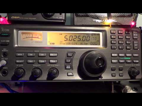 Radio Rebelde Cuba on 5025 Khz heard with Icom IC R8500