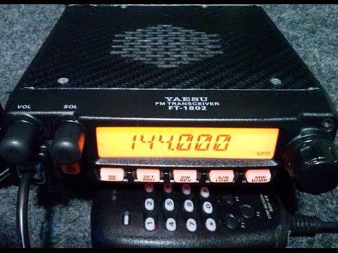 Radio Transceptor Vhf Yaesu Ft 1802 H p/ Radioamador