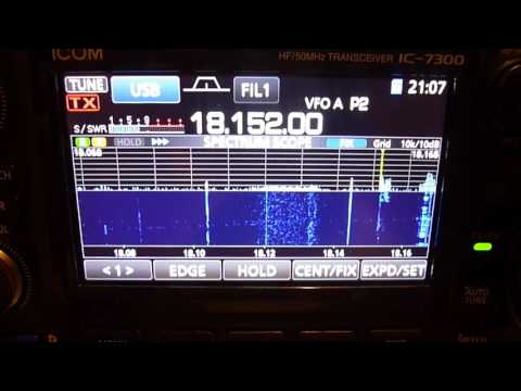 Solar Panel Interference on hf radio icom ic-7300, (qrm),amateur radio
