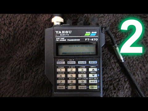 Yaesu FT-470 handheld amateur radio transceiver, Part 2: Background/history