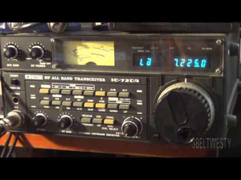 GEORGIA QSO Party receive ham AE4CW via ICOM 720A radio