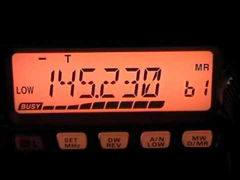 Amateur (HAM) Radio - Metrolina 2 Meter Emergency Net, W4BFB, Charlotte, NC with Yaesu FT-2900r