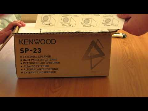 Unboxing Ham Radio - Kenwood Sp-23 for TS590SG