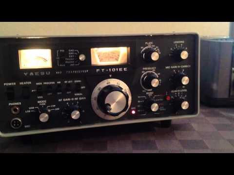 Yaesu FT101EE Vintage Ham Radio