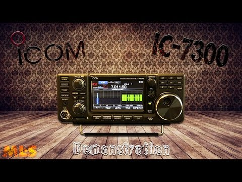 A nice demonstration of the Icom IC-7300 in action with ML&S