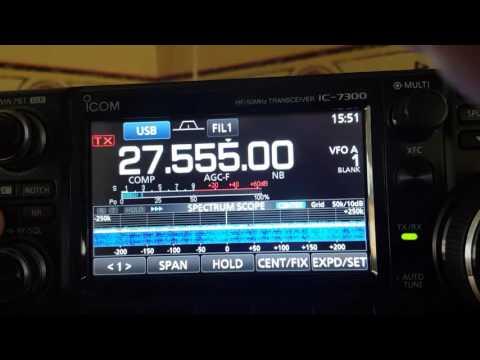 Efficacité Filtre Noise Blanker ICOM IC 7300